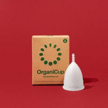 OrganiCup Menstrual Cup Size B - Κύπελλο Περιόδου Αυξημένης Ροής 1τμχ