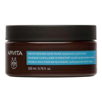 Apivita Μάσκα Μαλλιών Ενυδάτωσης με Υαλουρονικό Οξύ & Αλόη 200ml