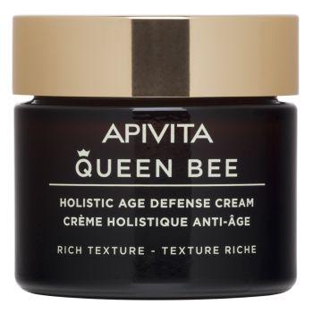 Apivita Queen Bee Holistic Κρέμα Ημέρας Ολιστικής Αντιγήρανσης Πλούσιας Υφής 50ml