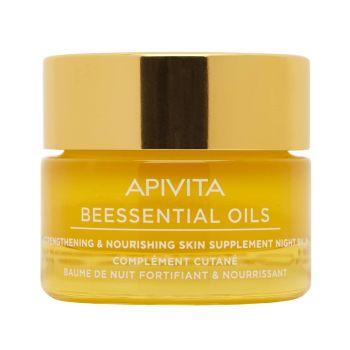 Apivita Beessential Oils Balm Προσώπου Νυχτός 15ml