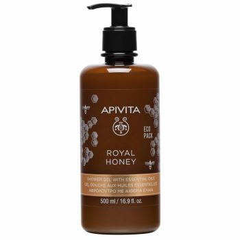 Apivita Royal Honey Κρεμώδες Aφρόλουτρο με Aιθέρια Έλαια Με Ελληνικό Θυμαρίσιο Μέλι 250ml
