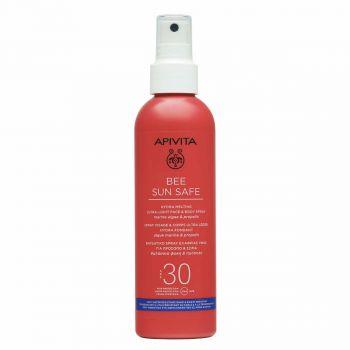 Apivita Bee Sun Safe Ενυδατικό Spray Ελαφριάς Υφής για Πρόσωπο & Σώμα SPF30 200ml