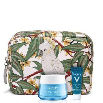 Vichy PROMO Aqualia Thermal Light Rehydrating Cream Λεπτόρρευστη Ενυδατική Κρέμα Ημέρας, 50ml & ΔΩΡΟ Mineral 89 Probiotic, 5ml