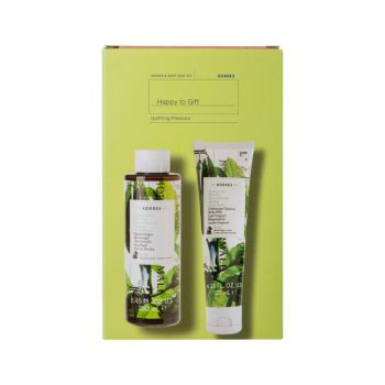 Korres Promo Happy Gift 1+1 Mint Tea Αφρόλουτρο Πράσινο Τσάι 250ml & Γαλάκτωμα Σώματος 125ml