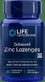 Life Extension Zinc Lozenges 30s