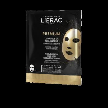 Lierac Premium The Sublimating Gold Mask Χρυσή Μάσκα Αντιγήρανσης 20ml