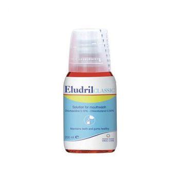Elgydium  Στοματικό Διάλυμα Χλωρεξιδίνης 0,10%  Eludril Classic 200Ml