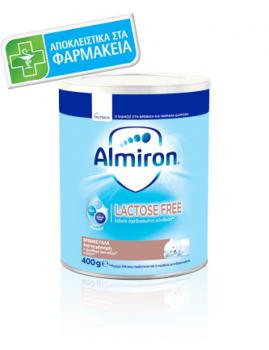 Νutricia Almiron Lactose Free 400gr