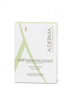 A-Derma-Στερεή-Πλάκα-Σαπουνιού-Για-Καθαρισμό-Pain-Dermatologique-100g