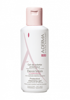 A-Derma-Απαλό-Καθαριστικό-Ευαίσθητης-Περιοχής-Derm'Intim-pH-5,5-200ml