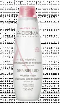 A-Derma Νερό Ντεμακιγιάζ Για Πρόσωπο-Μάτια Sensifluid Eau Micellaire 250ml