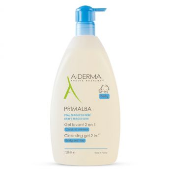 A-Derma Primalba Gel Lavant Douceur 2 in 1 1000ml