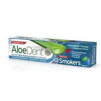 Aloe Dent Triple Action Smokers Toothpaste 100 ml