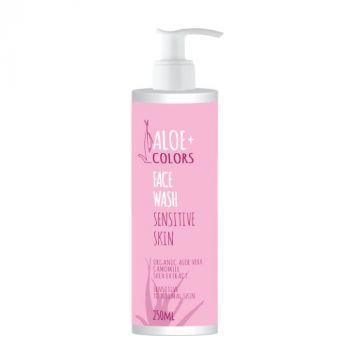 Aloeplus Face Wash Sensitive Skin Απαλό Καθαριστικό Προσώπου 250ml