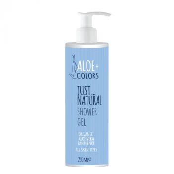 Aloeplus Just Natural Shower Gel με Άρωμα Φρεσκάδας 250ml
