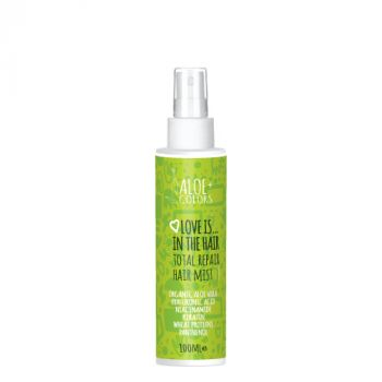 Aloeplus Love is in the Hair Total Repair Hair Mist Ενυδατικό Spray Μαλλιών 100ml