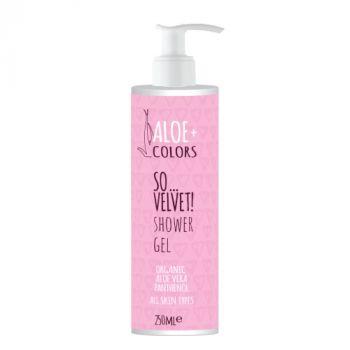 Aloeplus So Velvet Shower Gel με Άρωμα Πούδρας 250ml