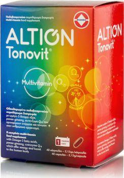 Altion Tonovit Multivitamin 40 κάψουλες