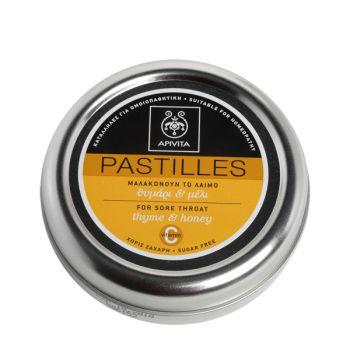 Apivita Παστίλιες με Θυμάρι & Μέλι 45gr