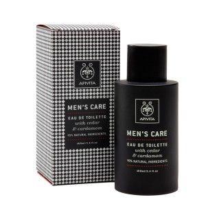 Apivita-Ανδρική-Κολώνια-με-Κέδρο-& Κάρδαμο-Men's-Care-Eau-de-Toilette-with-Cedar-&-Cardamom-100ml