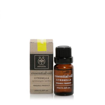Apivita Αιθέριο Έλαιο Σιτρονέλλα Essential Oil Citronella 10ml