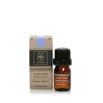 Apivita Αιθέριο Έλαιο Φασκόμηλο-Essential Oil Clary Sage 5ml
