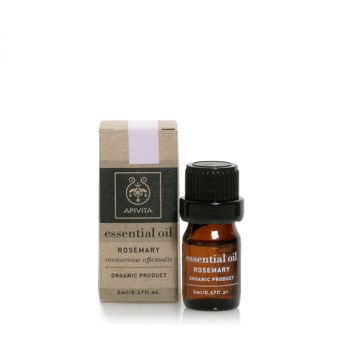Apivita Αιθέριο Έλαιο Δενδρολίβανο Essential Oil Rosemary 5ml