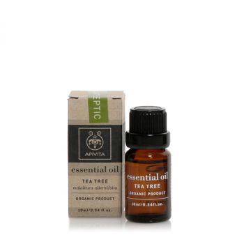 Apivita Αιθέριο Έλαιο Τεϊόδεντρο Essential Oil Tea Tree 10ml