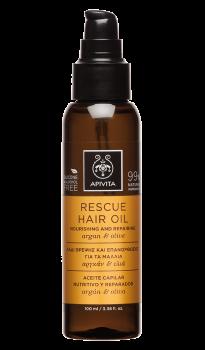 Apivita-Rescue-Oil-Λάδι-Θρέψης-και-Επανόρθωσης-για-τα-Μαλλιά-με-Αργκάν-&-Ελιά-Rescue-Hair-Oil-Nourishing-&-Repairing-with-Argan-&-Olive-100ml