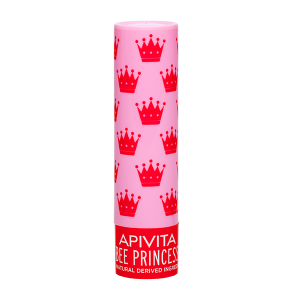 Apivita Bee Princess Bio-Eco Lip Care με Βερύκοκο & Μέλι 4,4gr