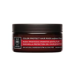Apivita Holistic Hair Care Μάσκα Προστασίας Χρώματος για Βαμμένα Μαλλιά με Ηλίανθος & Μέλι 200ml