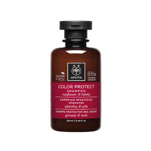 Apivita Holistic Hair Care Σαμπουάν Προστασίας Χρώματος με Ηλίανθος & Μέλι 250ml