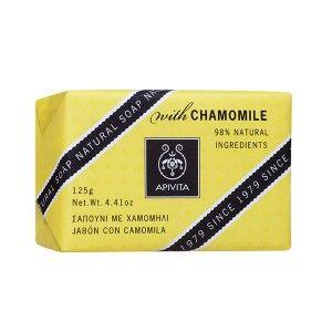 Apivita Natural Soap Σαπούνι με Χαμομήλι & Λεβάντα 125gr
