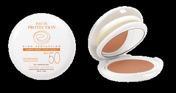 Avene Solaire Compact Teinte Spf50 Sample Sans Parfum Αντηλιακό Make Up με 100% Φυσικά Φίλτρα 10gr