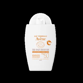 Avene Solaire Fluide Mineral Spf50+ Sans Parfum Αντηλιακή Λεπτόρρευστη Κρέμα με 100% Φυσικά Φίλτρα 40ml