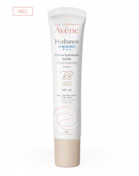 Avene Hydrance BB Riche Sfp30 Ενυδατική Κρέμα Προσώπου Πλούσιας Υφής Για το Ξηρό & Πολύ Ξηρό Δέρμα Με Χρώμα 40ml