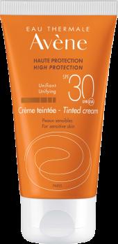 Avene Solaire Creme Teintee SPF30+ Αντηλιακή Κρέμα Προσώπου για Ξηρό & Πολύ Ξηρό Δέρμα Με Χρώμα 50ml