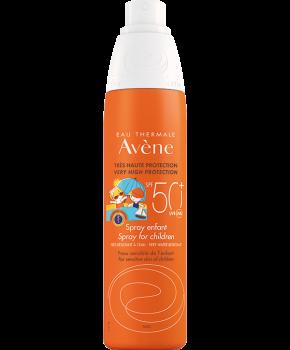 Avene Solaire Spray Enfant SPF50+ Παιδικό Αντηλιακό Σπρέι Προσώπου Σώματος 200ml
