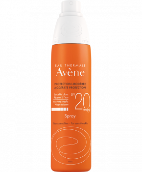 Avene Solaire Spray SPF20+ Αντηλιακό Σπρει Προσώπου & Σώματος 200ml
