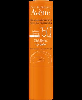 Avene Solaire Stick Levres SPF50+ Αντηλιακό Στικ Χειλιών  Για προστασία, Θρέψη & Ενυδάτωση 3gr
