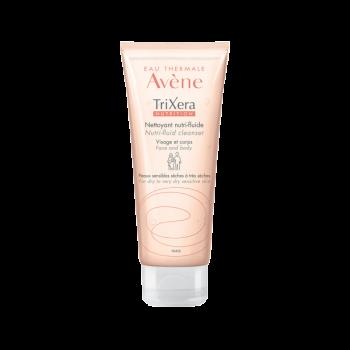 Avene Trixera Nutrition Nettoyant Nutri-Fluide Λεπτόρρευστο Θρεπτικό Καθαριστικό για Πρόσωπο & Σώμα 100ml