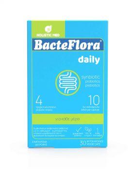 Holistic Med Bacteflora Προβιοτικό & Πρεβιοτικό 30 φυτοκάψουλες