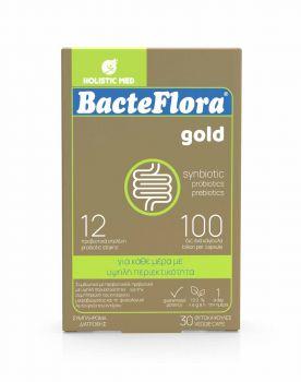 Holistic Med Bacteflora Gold 10 φυτικές κάψουλες