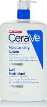 CeraVe Moisturising Lotion for Dry to Very Dry Skin Ενυδατικό Γαλάκτωμα για Ξηρό έως Πολύ Ξηρό Δέρμα 1lt