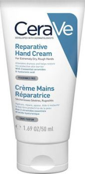 CeraVe Reparative Hand Cream Επανορθωτική Κρέμα Χεριών Για Πολύ Ξηρά Και Τραχιά χέρια 50ml