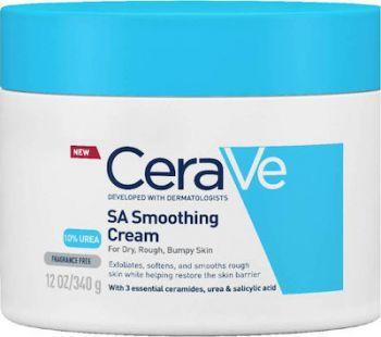 CeraVe SA Smoothing Cream Ενυδατική Κρέμα Με Ουρία 177gr