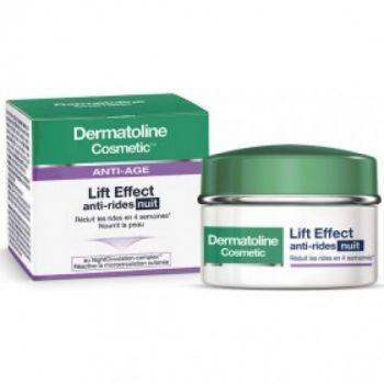 Dermatoline Cosmetic Lift Effect Αντιρυτιδική Κρέμα Νύχτας Lift Effect Anti-Rides Nuit  50ml