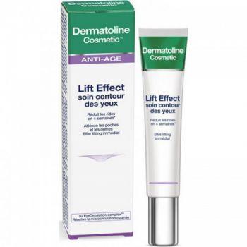 Dermatoline Cosmetic Lift Effect Κρέμα Ματιών Lift Effect Soin Contour Des Yeux 15ml