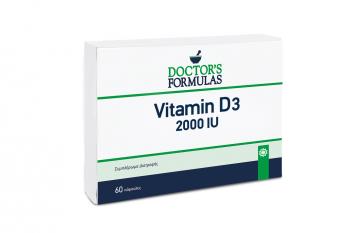 Doctor's Formulas Vitamin D-3 2000IU 60softgels