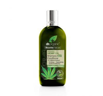 Dr. Organic Hemp Oil Shampoo & Conditioner 265ml
